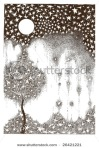 stock-photo-starfall-hand-drawing-black-ink-26421221