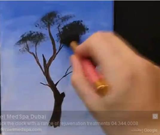 رسم الاشجار