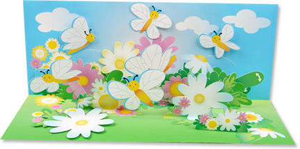 pop_up_panoramics_greeting_card_butterfly_dance_a145