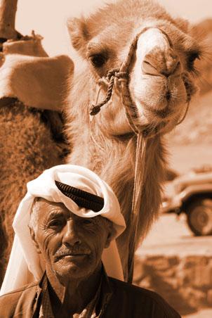 wadi_rum_man_camel_sepia_sm